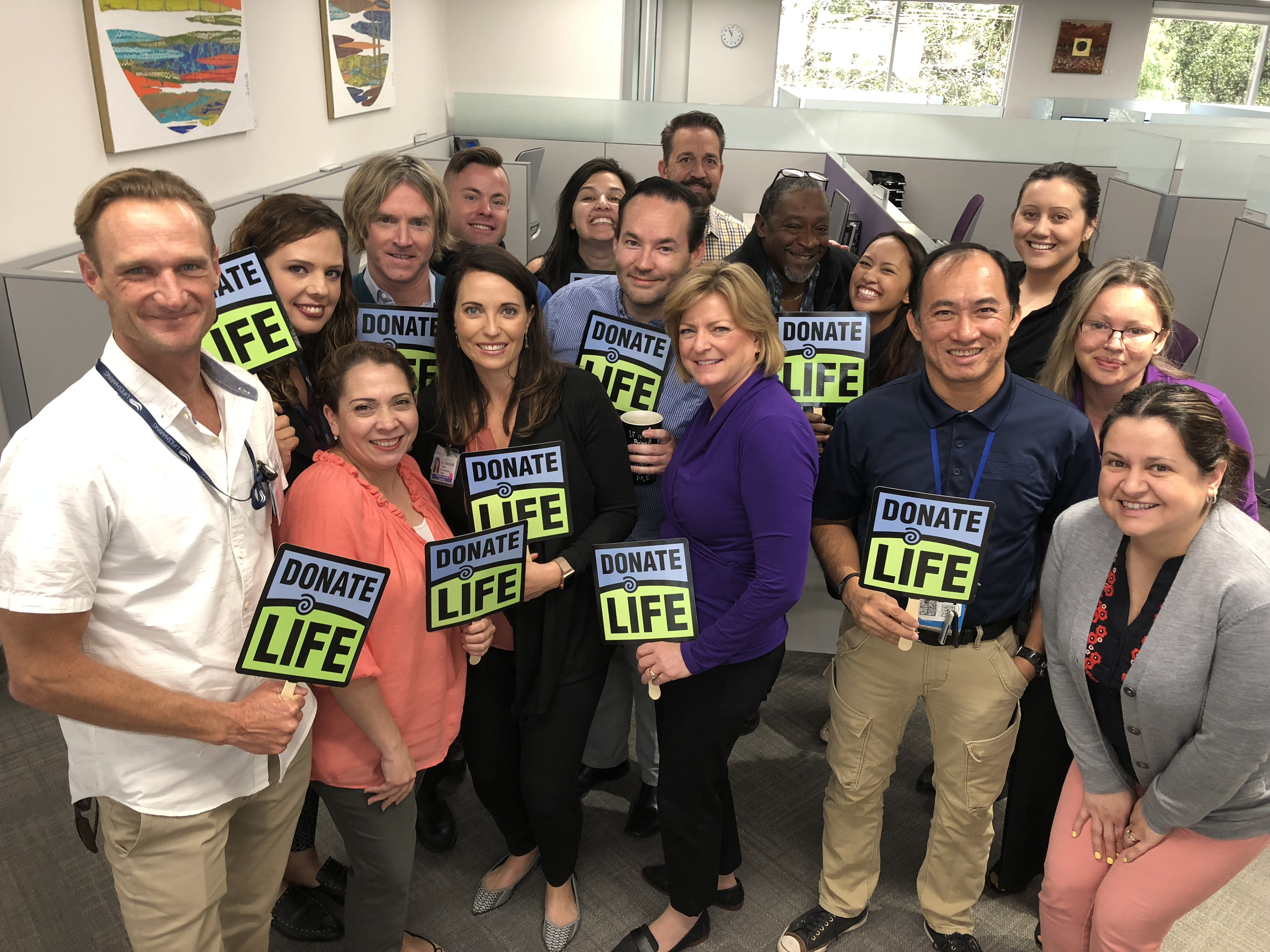 Donate Life Month Success