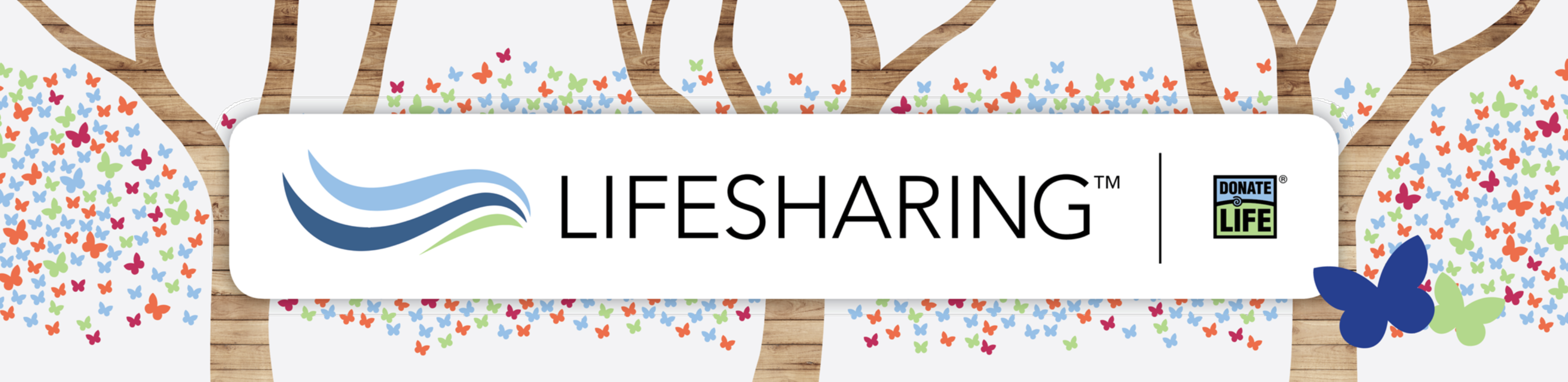 Lifesharing Butterfly Header