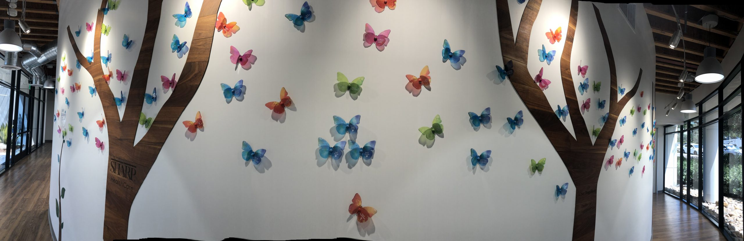 Hero Butterfly For Lifesharing's Memorial Wall